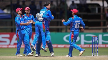 Rashid Khan became the fastest to 100 ODI wickets