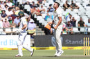 AB de Villiers was removed by Josh Hazlewood, South Africa v Australia, 3rd Test, Cape Town, 4th day, March 25, 2018