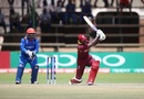 Rovman Powell led a late West Indies fightback, Afghanistan v West Indies, World Cup Qualifier, final, Harare, March 25, 2018