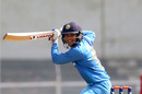 Smriti Mandhana guides the ball on the off side, India v England, Tri-Nation Women's T20 Series, Mumbai, March 25, 2018