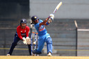 Harmanpreet Kaur was dismissed by Tash Farrant, India v England, Tri-Nation Women's T20 Series, Mumbai, March 25, 2018