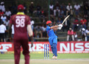 Rahmat Shah plays the hook shot, Afghanistan v West Indies, World Cup Qualifier, final, Harare, March 25, 2018