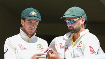 Tim Paine (left) was made Australia's acting captain after Steve Smith's role in the ball-tampering scandal