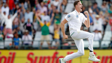 Running on air: Morne Morkel claimed four quick wickets