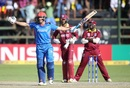 Mohammad Nabi sealed Afghanistan's win with a hat-trick of sixes, Afghanistan v West Indies, World Cup Qualifier, final, Harare, March 25, 2018