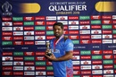 Mohammad Shahzad was named Man of the final, Afghanistan v West Indies, World Cup Qualifier, final, Harare, March 25, 2018