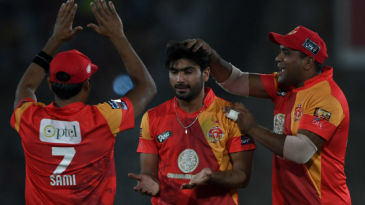 Hussain Talat impressed with his medium pace