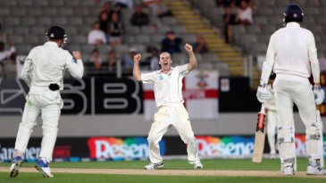 Todd Astle is ecstatic after dismissing Craig Overton