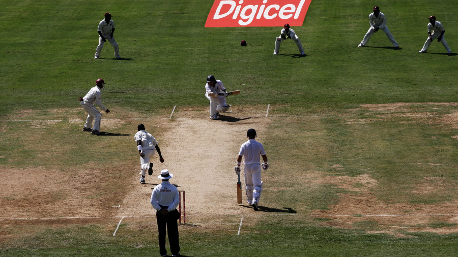 In Kingston in 2008-09, England were dismissed for 51 in their second innings
