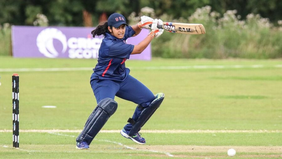 Shebani Bhaskar was just 17 when she played in the 2011 ICC Women's World Cup qualifiers. She scored 72 against Zimbabwe and helped the US win their only match of the tournament