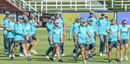 Australia practice on the eve of the fourth Test, Darren Lehmann's last as coach, Johannesburg, March 29, 2018
