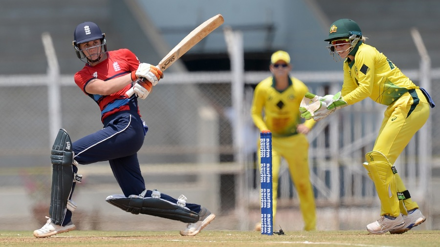 Natalie Sciver scored a 42-ball 50
