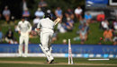 BJ Watling lost his off stump to James Anderson, New Zealand v England, 2nd Test, Christchurch, 3rd day, April 1, 2018
