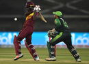 Chadwick Walton smashes a short one, Pakistan v West Indies, 1st T20I, Karachi, April 1, 2018