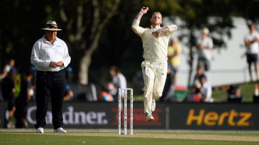 Ben Stokes returned to the bowling crease