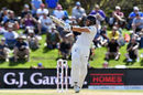 Dawid Malan pulls through the leg side, New Zealand v England, 2nd Test, Christchurch, 4th day, April 2, 2018