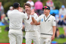 Colin De Grandhomme picked up useful wickets, New Zealand v England, 2nd Test, Christchurch, 4th day, April 2, 2018