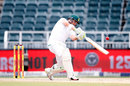 Dean Elgar launches one on the up, South Africa v Australia, 4th Test, 4th day, Johannesburg, April 2, 2018