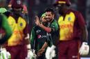Mohammad Amir gets a high-five from a team-mate, Pakistan v West Indies, 2nd T20I, Karachi, April 2, 2018