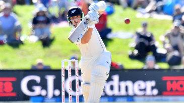 BJ Watling helped steady the innings