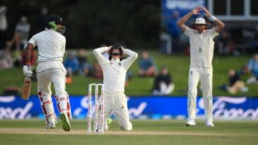 England captain Joe Root rues a close chance