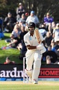 Ish Sodhi struck his third half-century to save the Test match for New Zealand, New Zealand v England, 2nd Test, Christchurch, 5th day, April 3, 2018