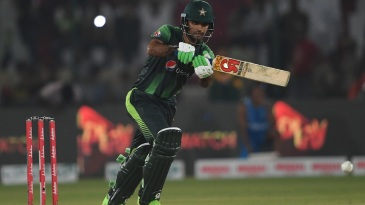 Fakhar Zaman was named Man of the Match for his 17-ball 40