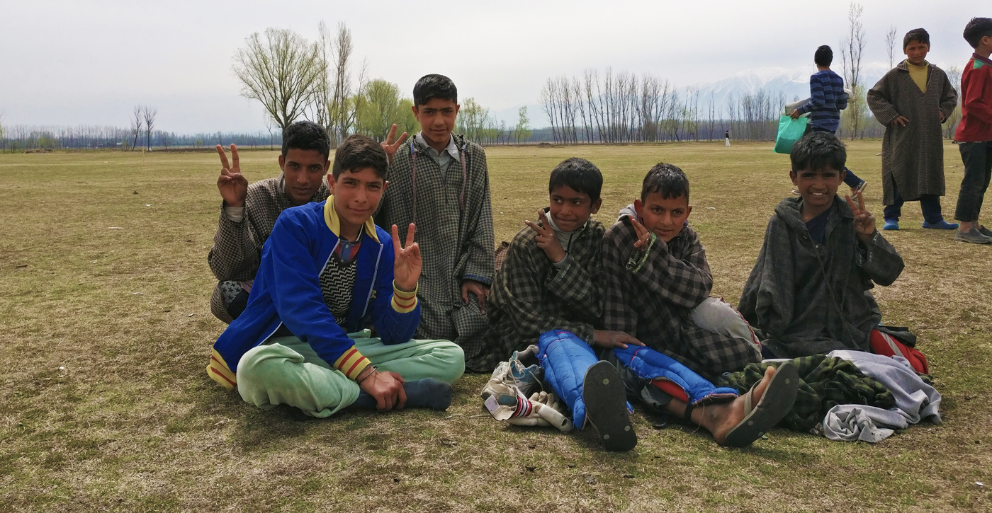 Manzoor wants to turn the grounds of his village into proper facilities for the local youth