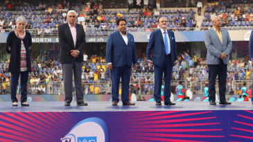 The BCCI officials at the IPL opening ceremony