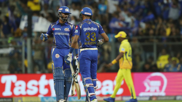 The Pandya brothers go through a fist-pump routine