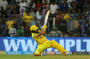 Kedar Jadhav levelled the scores with a stunning shot, Mumbai Indians v Chennai Super Kings, IPL 2018, Mumbai, April 7, 2018