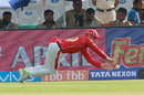 David Miller dives to save to his left, Kings XI Punjab v Delhi Daredevils, IPL 2018, Mohali, April 8, 2018