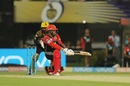 Quinton de Kock top-edged  a reverse sweep to short third man, Kolkata Knight Riders v Royal Challengers Bangalore, IPL 2018, Eden Gardens, April 8, 2018
