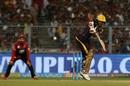 Nitish Rana tucks into the leg side, Kolkata Knight Riders v Royal Challengers Bangalore, IPL 2018, Eden Gardens, April 8, 2018