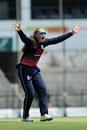 Sophie Ecclestone belts out an appeal, India v England, 2nd women's ODI, Nagpur, April 9, 2018