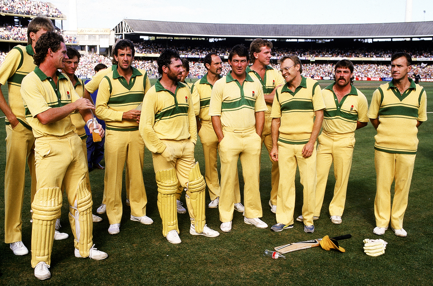Australia win the 1985-86 Benson & Hedges World Series Cup: