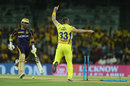 Shane Watson screams in delight as Robin Uthappa is caught short of the crease, Chennai Super Kings v Kolkata Knight Riders, IPL 2018, Chennai, April 10, 2018