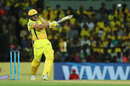 Shane Watson pulls from outside off, Chennai Super Kings v Kolkata Knight Riders, IPL 2018, Chennai, April 10, 2018
