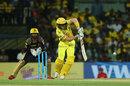 Sam Billings clips one through midwicket, Chennai Super Kings v Kolkata Knight Riders, IPL 2018, Chennai, April 10, 2018