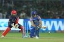 Jos Buttler sweeps the ball fine, Rajasthan Royals v Delhi Daredevils, IPL 2018, Jaipur, April 11, 2018