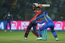 Glenn Maxwell whips one into the leg side, Rajasthan Royals v Delhi Daredevils, IPL 2018, Jaipur, April 11, 2018