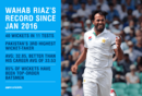 Wahab Riaz has been Pakistan's third highest wicket-taker since January 2016, April 12, 2018