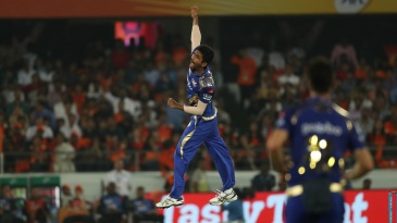 Jasprit Bumrah picked two wickets in the 18th over