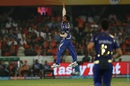 Jasprit Bumrah picked two wickets in the 18th over, Sunrisers Hyderabad v Mumbai Indians, IPL 2018, Hyderabad, April 12, 2018