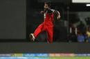 Umesh Yadav exults after dismissing Yuvraj Singh, Royal Challengers Bangalore v Kings XI Punjab, IPL 2018, Bengaluru, April 13, 2018
