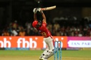 Karun Nair ramps one over the keeper, Royal Challengers Bangalore v Kings XI Punjab, IPL 2018, Bengaluru, April 13, 2018