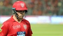 Aaron Finch walks back for a duck, Royal Challengers Bangalore v Kings XI Punjab, IPL 2018, Bengaluru, April 13, 2018