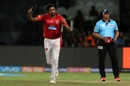 Ravichandran Ashwin picked two wickets in the 12th over, Royal Challengers Bangalore v Kings XI Punjab, IPL 2018, Bengaluru, April 13, 2018