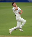 Ed Barnard bowls for Worcestershire, Hampshire v Worcestershire, Ageas Bowl, April 13, 2018