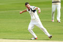 James Harris celebrates a wicket, Middlesex v Durham, Lord's
